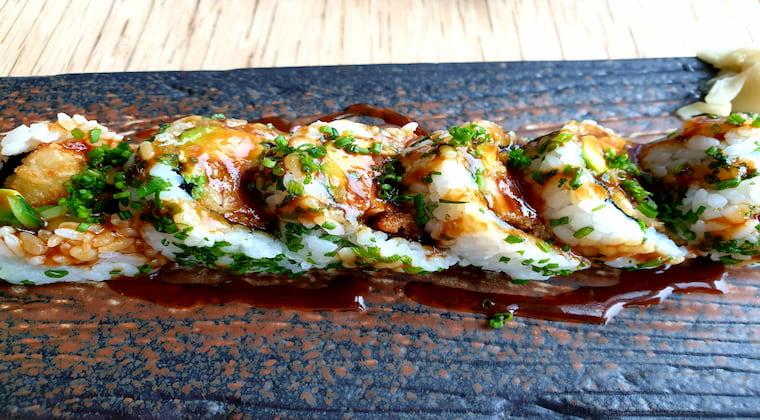 Sushi im Katagi Blau