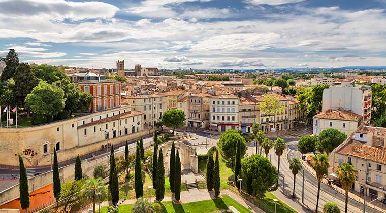 Die wunderschöne Stadt Montpellier