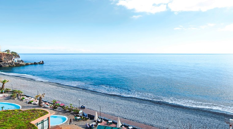 Blick auf das Meer vom Pestana Ocean Bay Resort