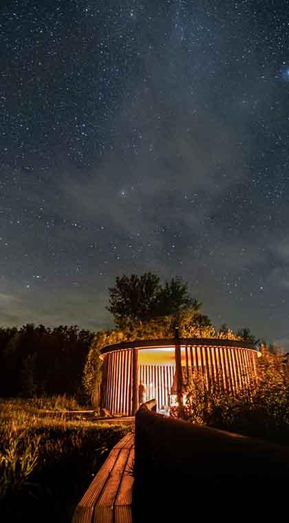 Sternenhimmel im Friesland