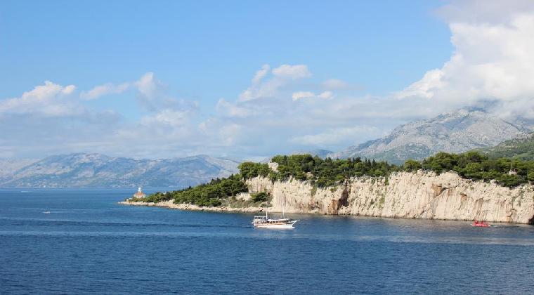 Bootstour entlang der Küste an der Makarska Riviera
