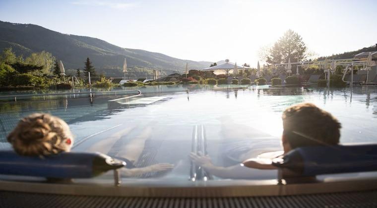Wasserwelt im Ebners Walhof am See Resort & Spa
