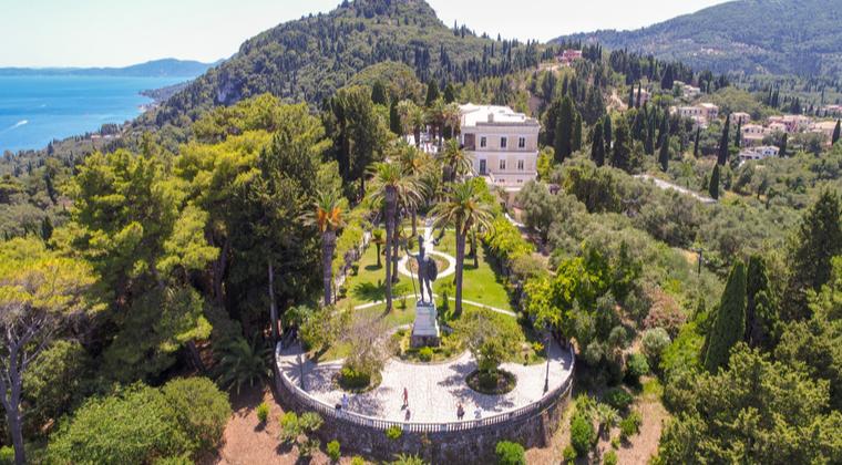 Achilleion Palast auf Korfu
