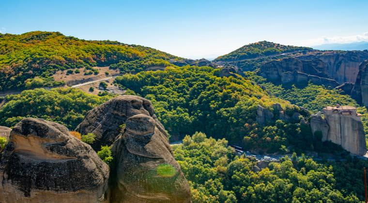 Korfus grüne Berge