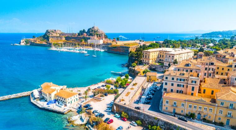 Kerkyra auf Korfu