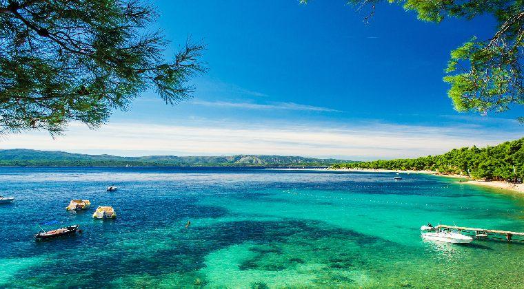 Kroatien Strand Goldenes Horn