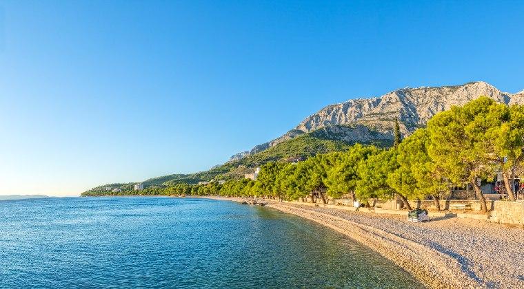 Kroatien Strand Tucepi