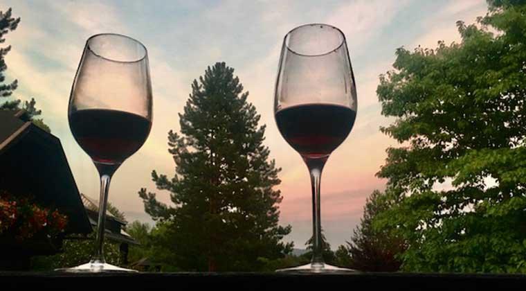 Wein mit Aussicht