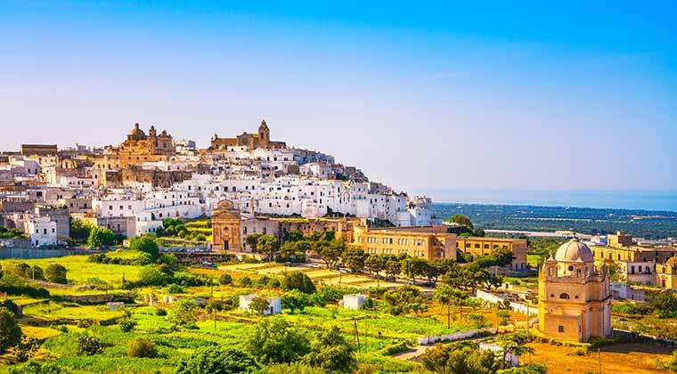 Apulien Sehenswürdigkeit: Ostuni
