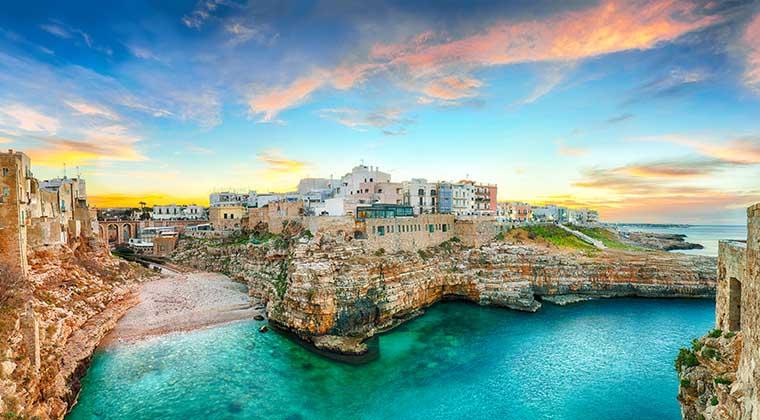 Apulien Sehenswürdigkeiten Polignano a Mare