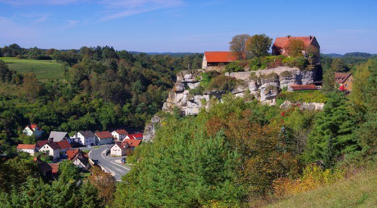 Pottenstein im Mittelgebirge Deutschland