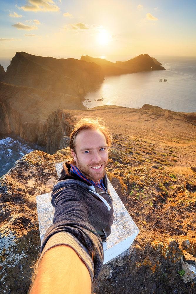 YouTuber auf der Blumeninsel Madeira