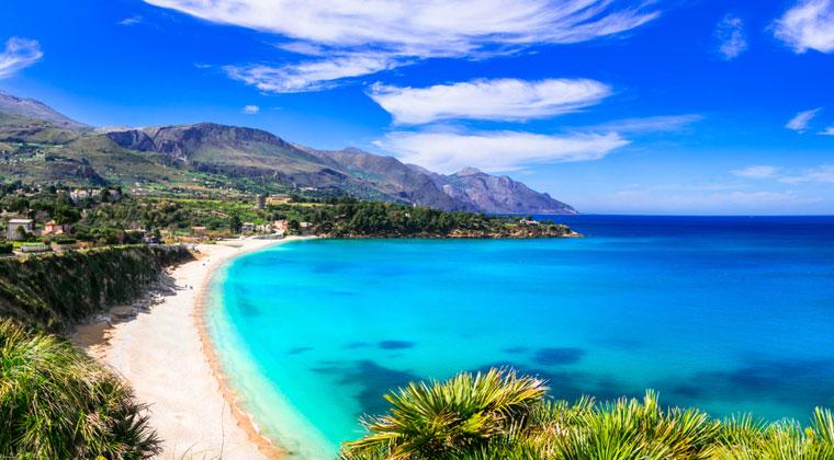 Sizilien Strand Scopello