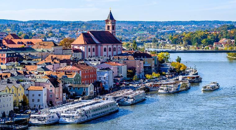 Passau Stadt am Wasser