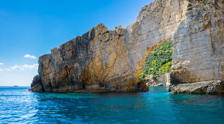 Zakynthos Höhlen bei Keri