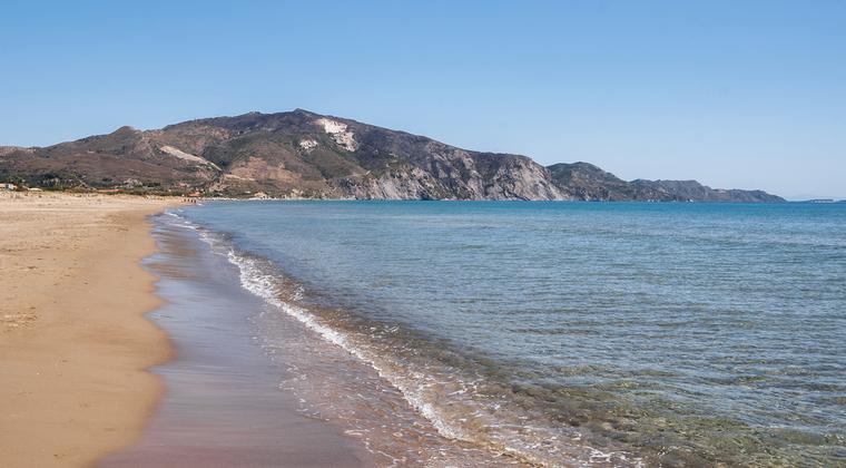 Kalamaki Strand auf Zakynthos