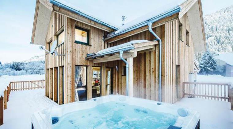 Ferienhaus mit Whirlpool in Österreich