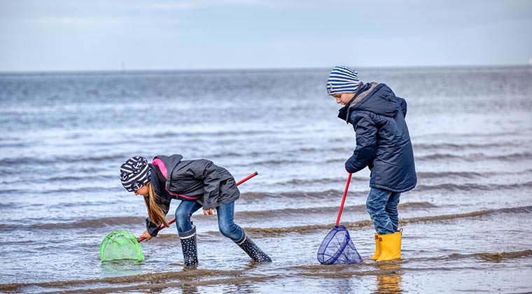 Urlaub mit Kindern in Deutschland an der Nordsee