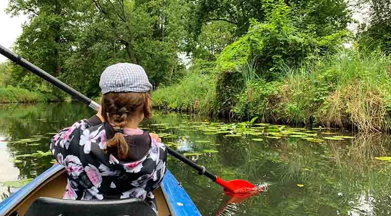 Urlaub mit Kindern in Deutschland im Spreewald