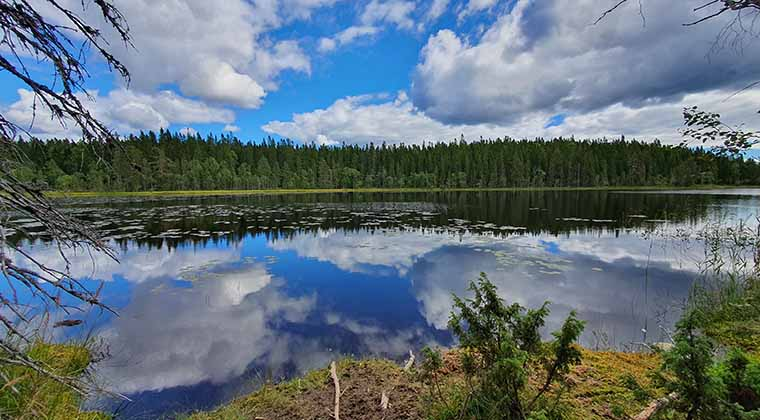 See im Nationalpark Skuleskogen