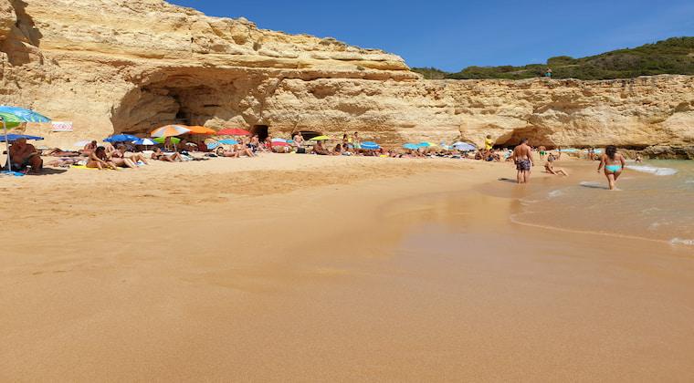 Portugal Strand Praia do Carvalho