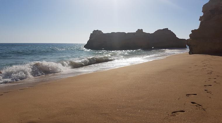 Portugal Strand Praia do Amado Felsen