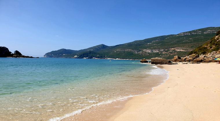 Portugal Strand Arrabida Nationalpark