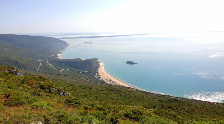 Ausblick auf den Arrabida Nationalpark