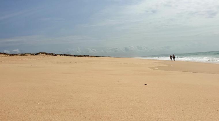 endloser Strand in Comporta