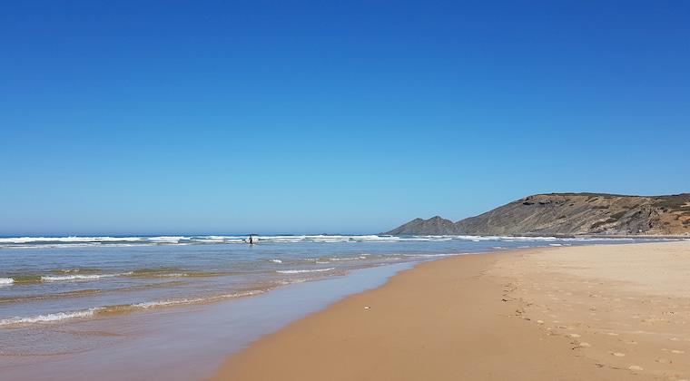 Praia da Amoreira: schönster Portugal Strand
