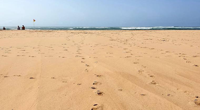 Praia das Furnas bei Ebbe