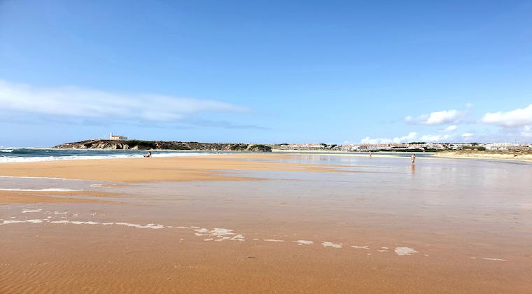 Flut am Praia das Furnas