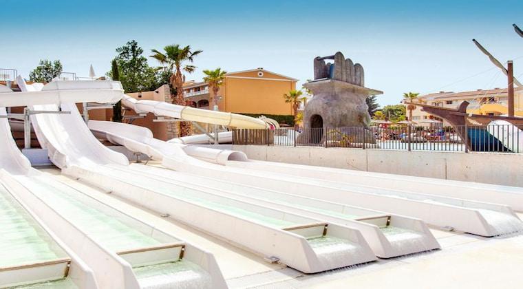 Cala Mandia Mallorca Wasserrutschen