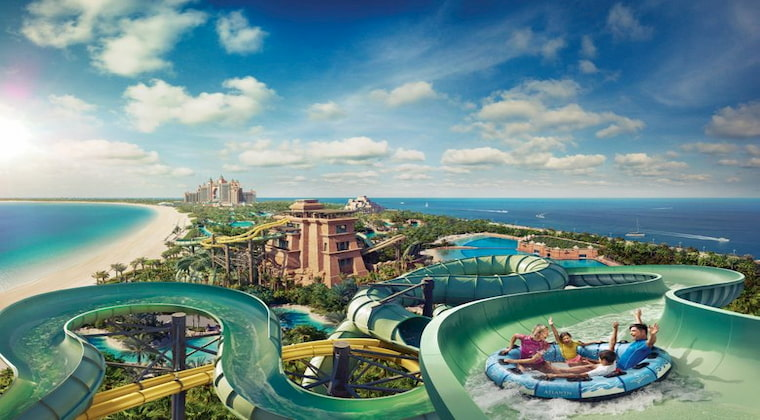 Hotel mit Aquapark: Dubai Atlantis the Palm Aquaventure Park