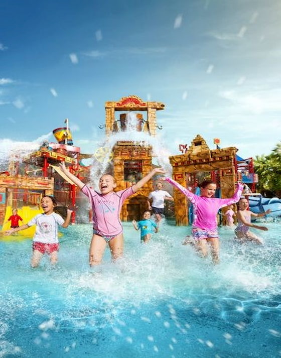 Atlantis the Palm Splasher Mountain