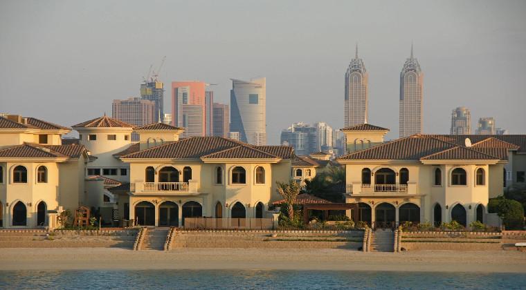 Villen auf Dubai The Palm
