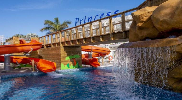 TUI Kids Club Maspaloma Princess Wasserrutschen