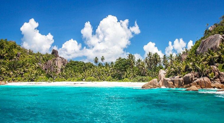 Seychellen die Insel Felicite