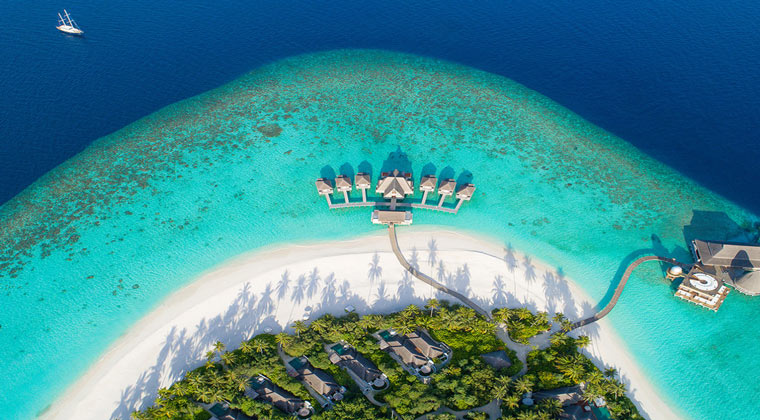 Anantara Kihavah Maldives Villas Strand