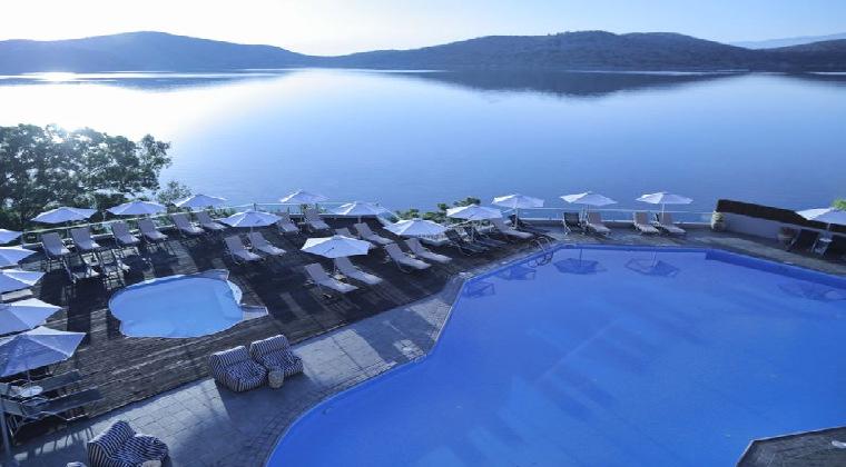 Erwachsenenhotel Griechenland Elounda Blu Hotel Pool