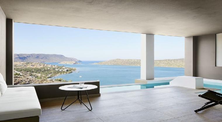Erwachsenenhotel Griechenland Elounda Blu Hotel Zimmerbeispiel