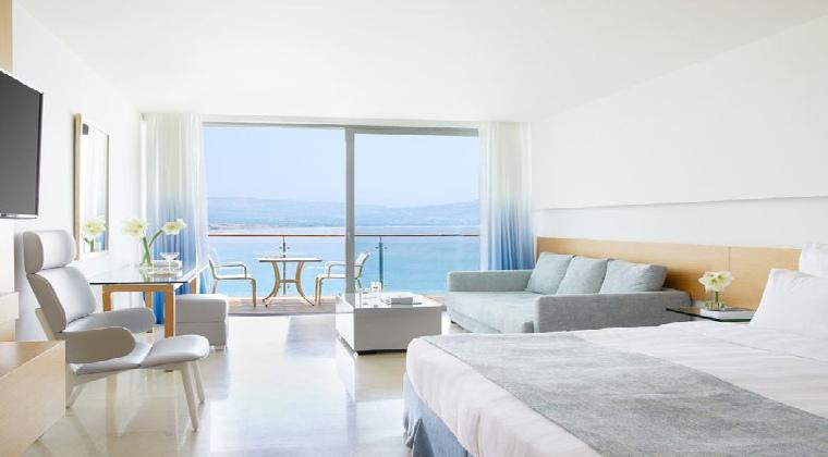 Zimmer im Lindos Blu auf Rhodos