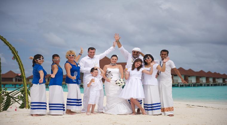 Heiraten auf den Malediven TUI Kollegin