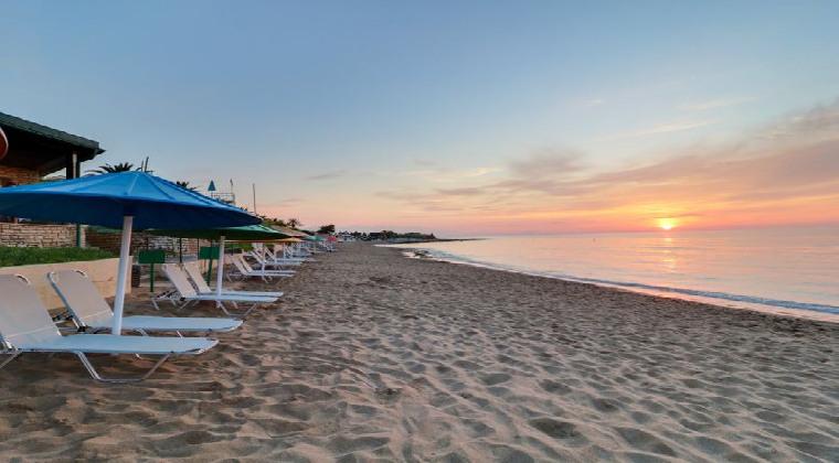 Strand am Hotel Creta Star