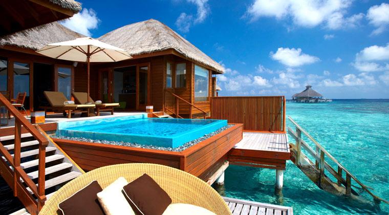 Huvafen Fushi Maledives Wohnbeispiel