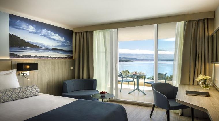 Inseln Kroatien Valamar Carolin Hotel Wohnbeispiel