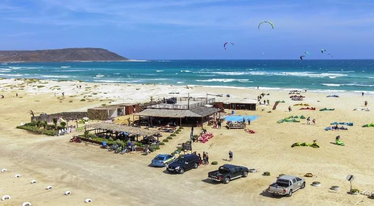 Kite Beach auf der Insel Sal