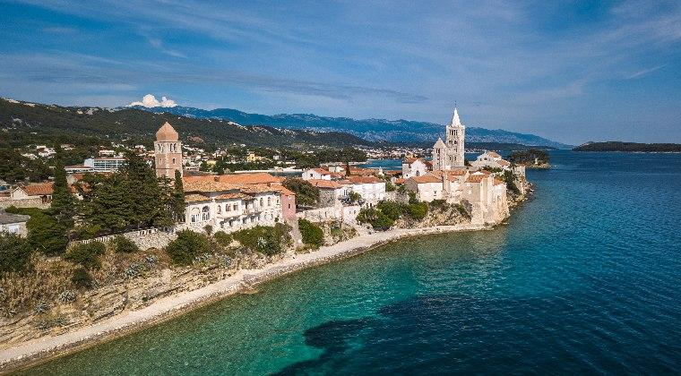 Kroatien Inseln Altstadt Insel Rab
