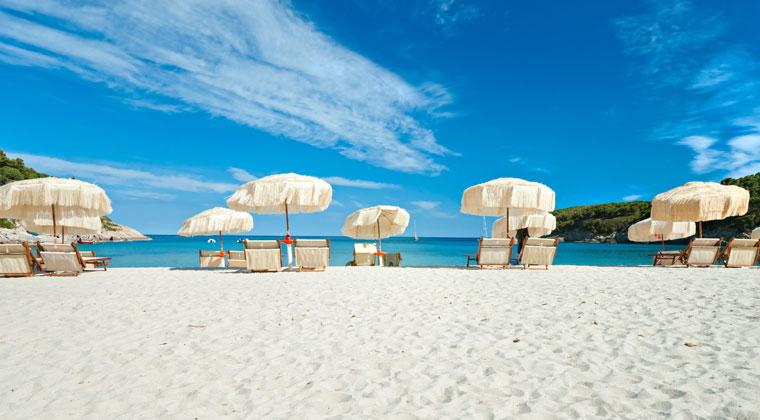 Toskana Strände Biodola Beach