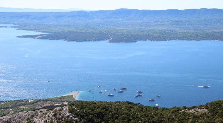 Insel Brac Goldene Horn